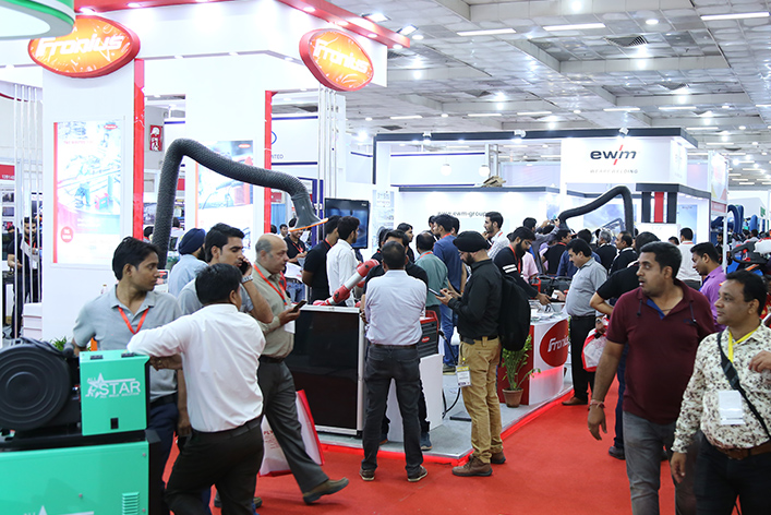 Over 468 exhibitors represented at the Exhibition