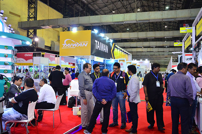 Over 304 exhibitors represented at the Exhibition